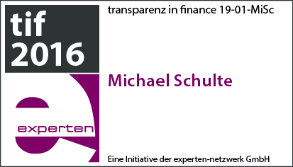 transparenz in finance Michael Schulte